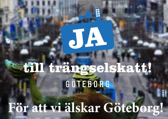 Ja till trängselskatt i Göteborg