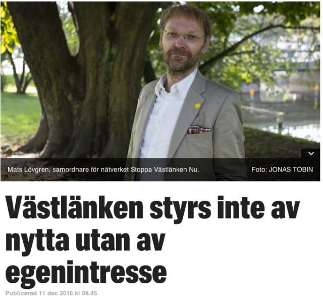 Mats Lövgren i GT